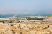 view of Dead Sea. Israel