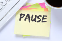 Pause Mittagspause Erholung Arbeit Business Schreibtisch