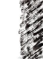 Black brush strokes with edge