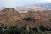 Köbük Canyon, Kökomeren Valley, Cental Kyrgyzstan