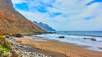 Sandy beach inTenerife
