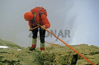 Kletterer, Alpen, Oesterreich