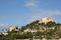 Arta Mallorca Balearen Kirche Spanien Balearen