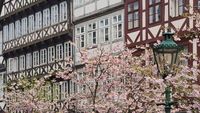 Hanover - Springtime in the old town, Germany