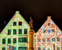 Iluminated House Facades