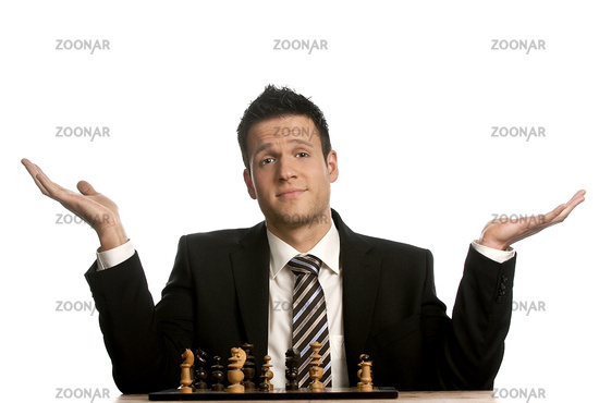 The business world is like a chess game