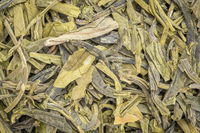 young hyson green tea background