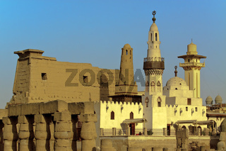 Egypt Luxor Abu I Haggag Mosque