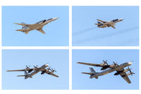 Different types of military aircraft