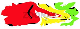 Koalition, Rot Gelb Grün Ampel;