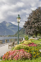 Lake promenade in Zell am See