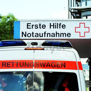 Notaufnahme Krankenhaus