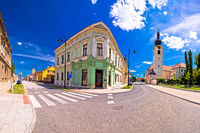 Town of Koprivnica old street view