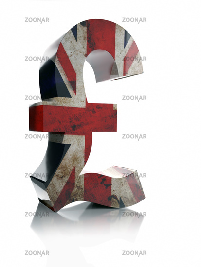 Photo 3d Pound Sterling Currency Symbol Image 11442458