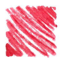 Red zigzag strokes