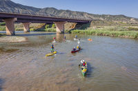 paddle race on Colorado River