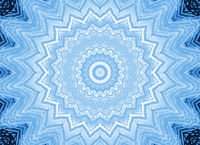 Blue background with abstract foam pattern