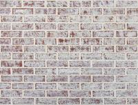 Whitewashed brick wall