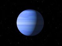 Planet Uranus done with NASA textures
