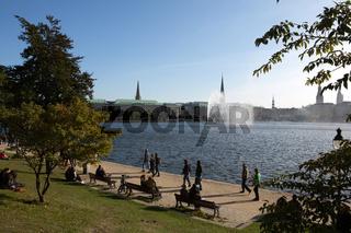 Außenalster Hamburg
