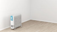 Oil-filled electric heater
