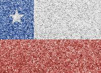 Fahne auf Mohn - Flag on poppy seed
