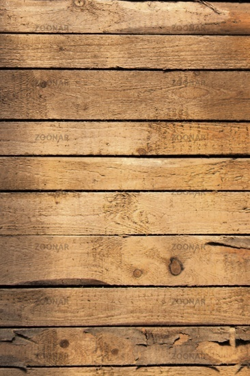 Background plank wall with branch holes