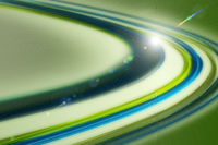 Futuristic eco wave background design with lights