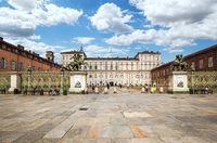 Royal palace in Turin, Italy