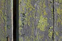 Renovation-requiring wooden wall