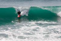 Surfer / Atlantik / Frankreich