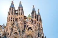 View to Sagrada Familia