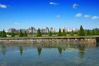 park of castle fontainebleau