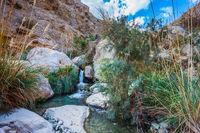 The picturesque stony gorge
