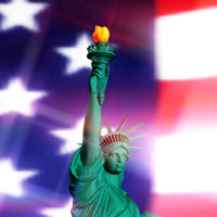 3D Rendering of the Statue of Liberty