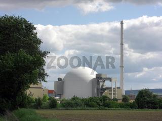 KKW Grohnde Reaktorkuppel
