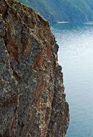 rocky shore  near Cape Khoboy
