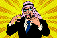 Successful Arab businessman