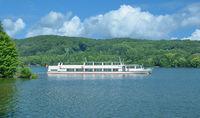Lake Baldeneysee in Essen,North Rhine westphalia,Germany
