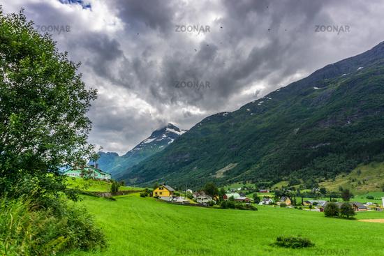 Beautiful landscape in Norway