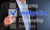 Immigration Touchscreen