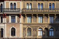 Wien - Fassaden am Stock-im-Eisen-Platz
