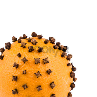 Christmas decoration - orange with cloves