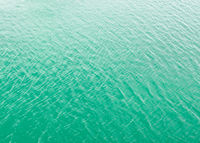 Green sea water