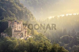 Hohenschwangau castle at Fussen Bavaria, Germany