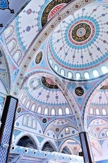 in der blauen Moschee in Manavgat