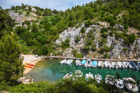 Calanque National Park - small fjord