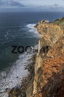 Leuchtturm Farol de Nazare, Nazare, Portugal, Europa