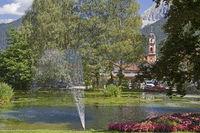 spa park in Mittenwald