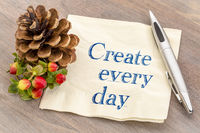 Create every day inpirational advice